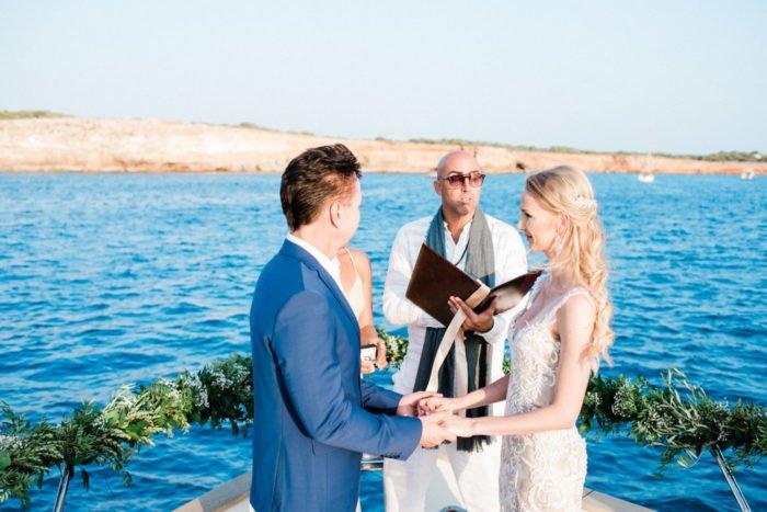 yacht wedding Ibiza