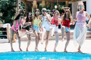 Ibiza birthday party