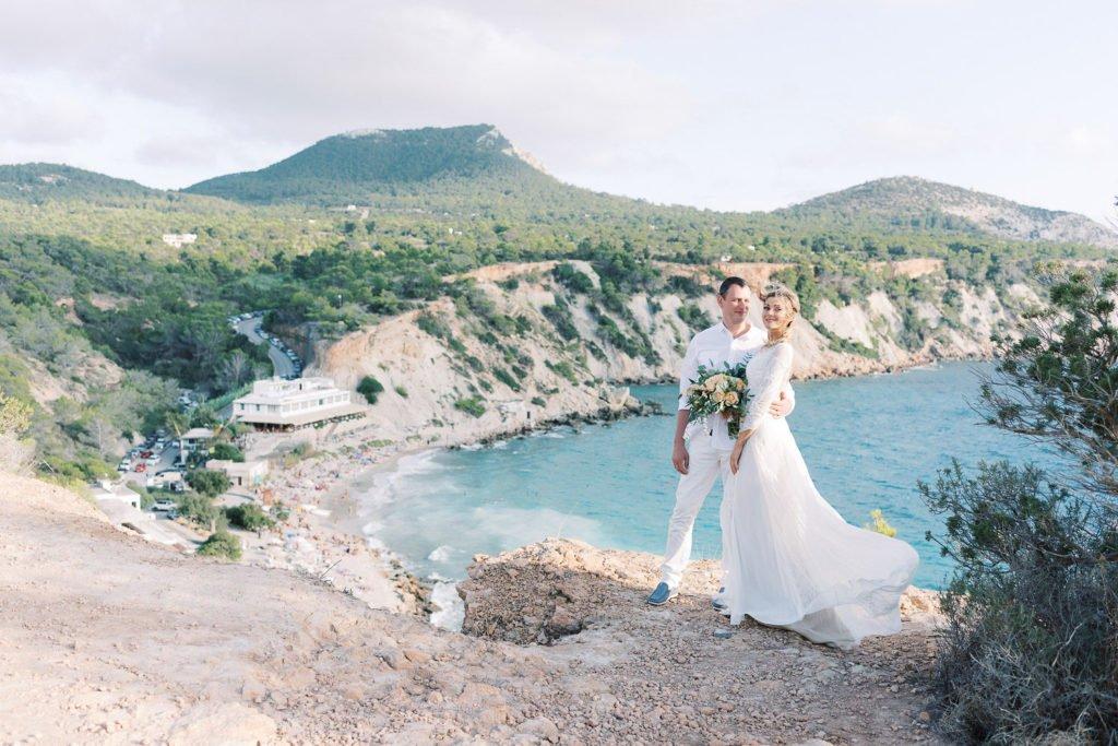 elopement in Ibiza